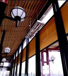 Обогреватели в коридорах